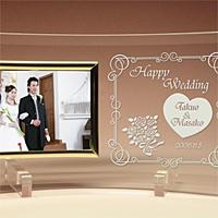 結婚祝いのオリジナルフォトフレーム