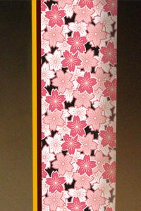 フルカラー絵柄入りガラス楯(盾)桜