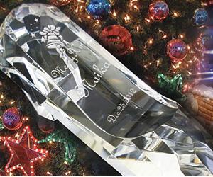 ガラスの靴クリスマスプレゼント