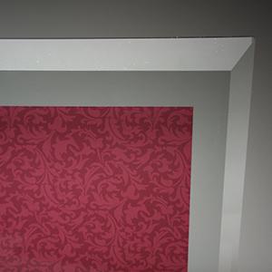 フルカラー印刷ガラス楯
