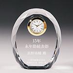 永年勤続表彰記念品のクリスタル楯(盾)