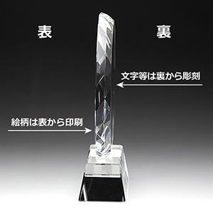 フルカラークリスタル楯(盾)