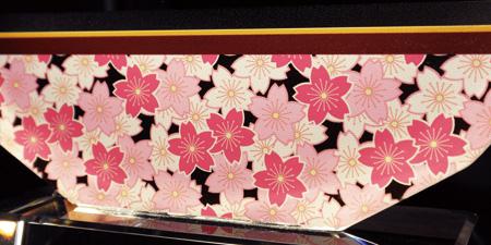 フルカラークリスタル楯(盾)桜